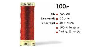 Gütermann 788988 100m /5Sp.