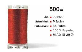 Gütermann 701920 500m /5Sp.