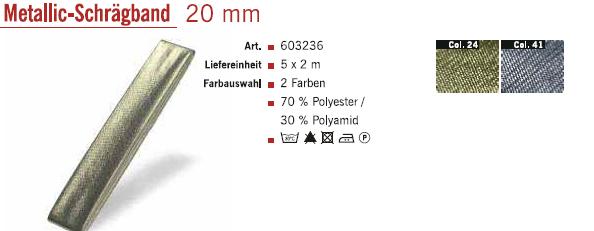 Gütermann 603236 Schrägband