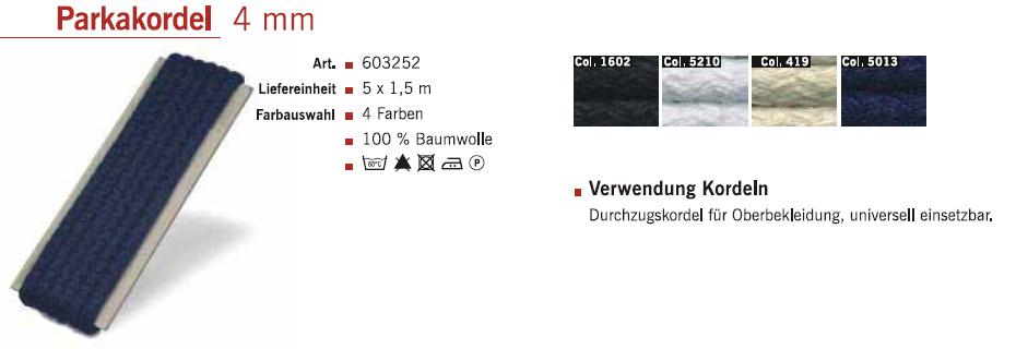 Gütermann 603252 Parkakordel