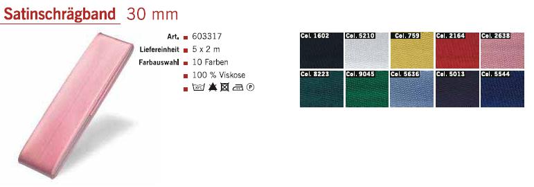 Gütermann 603317 Satinschrägband