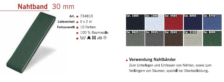 Gütermann 734810 Nahtband