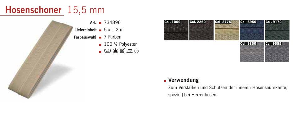 Gütermann 734896 Hosenschoner