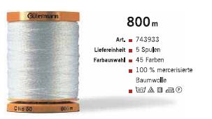 Gütermann 743933 BW 800m/5Sp.