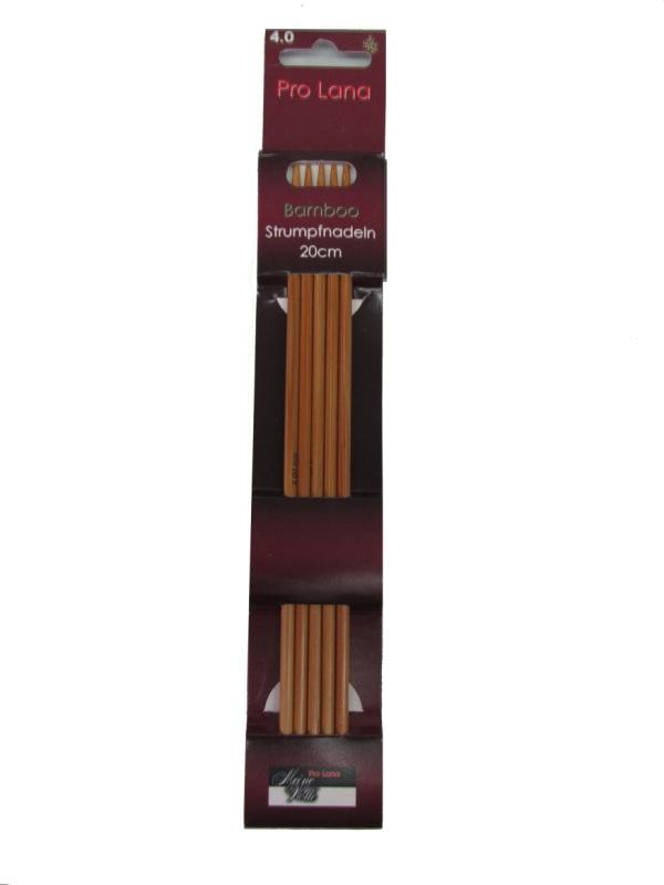 Strumpfnadel Bamboo 20cm/5,5