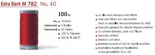 Gütermann 724033 100m/5Sp.