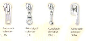 YKK Sonderschieber 10er Pack