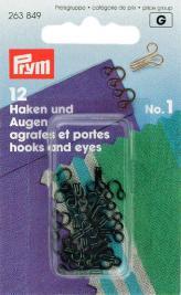Prym 263849 Federh.& Augen SB