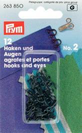 Prym 263850 Federh.& Augen SB