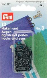 Prym 263851 Federh.& Augen SB