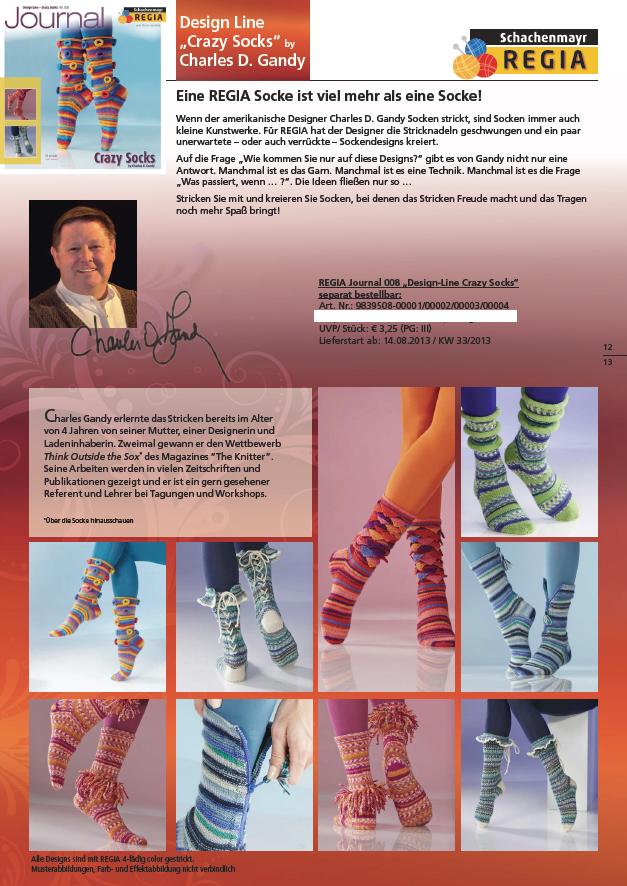Regia Journal 008 crazy socks