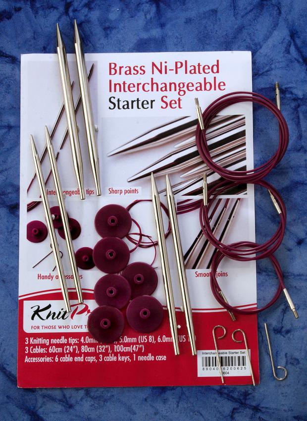 Knit Pro Metall Set Starter
