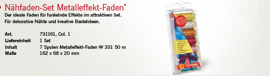 Gütermann 731161 Nähfaden-Set