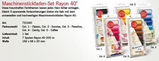 Gütermann 731340 Rayon 40