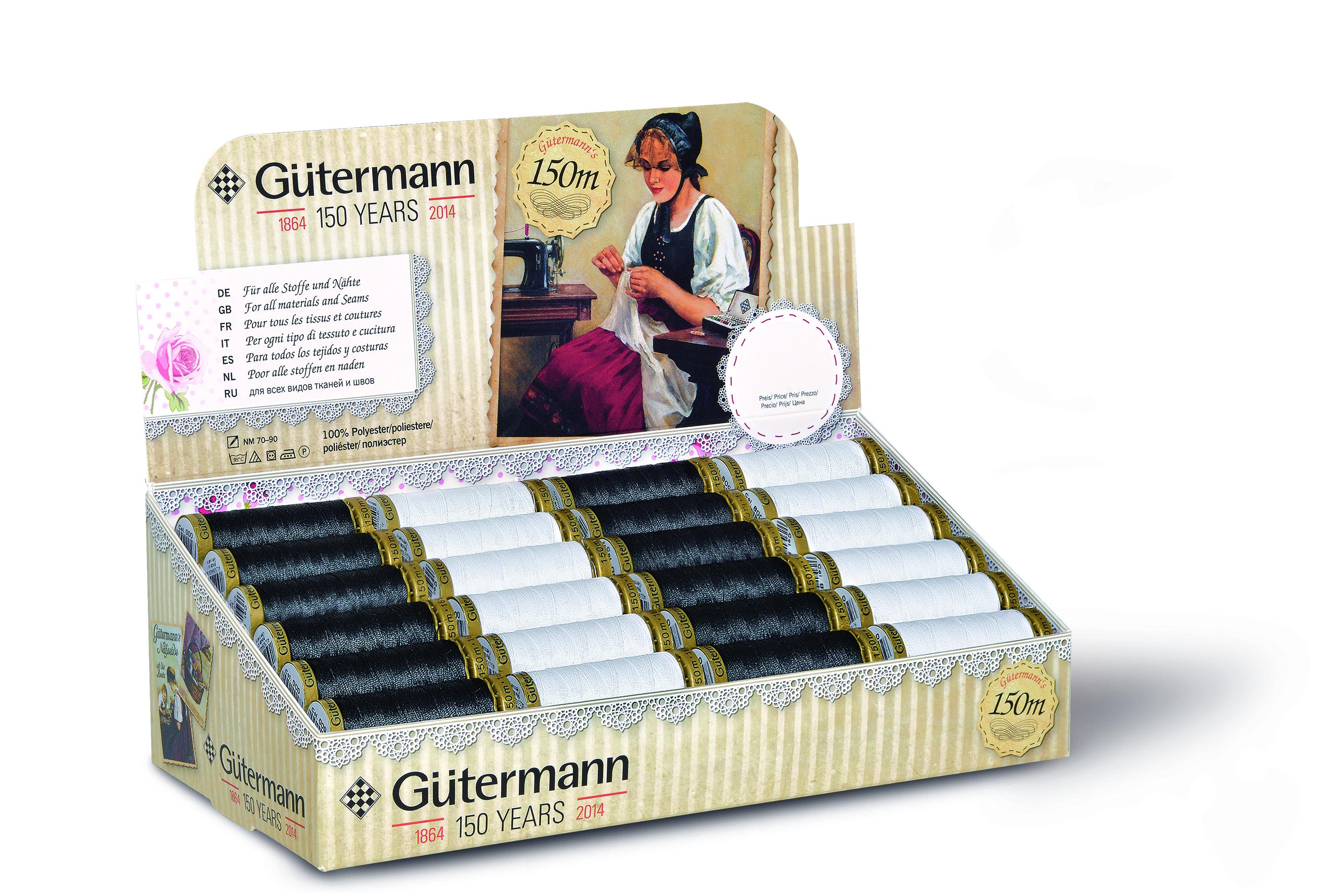 Gütermann 799661 schwarz&weiss