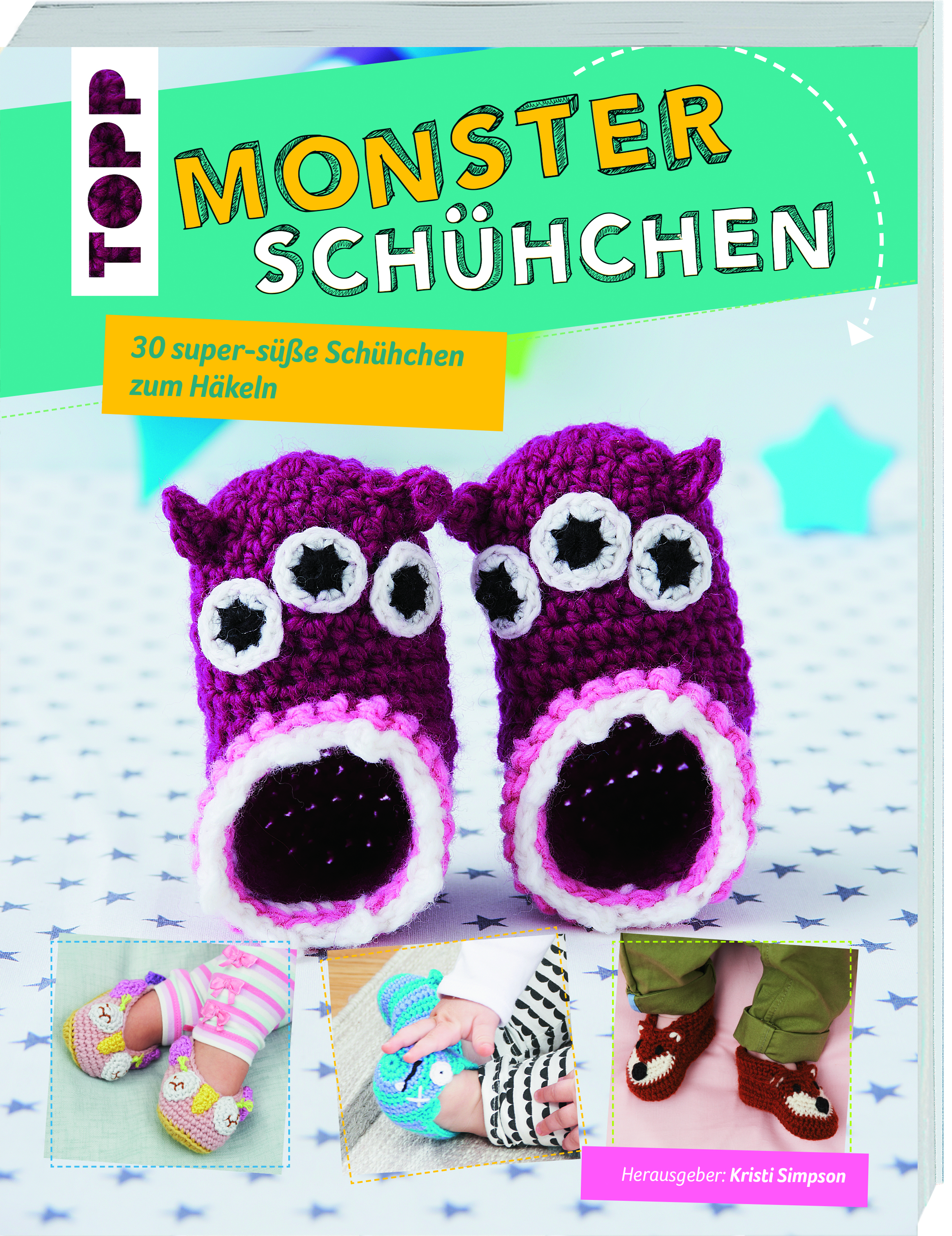 Topp 6459 Monsterschühchen