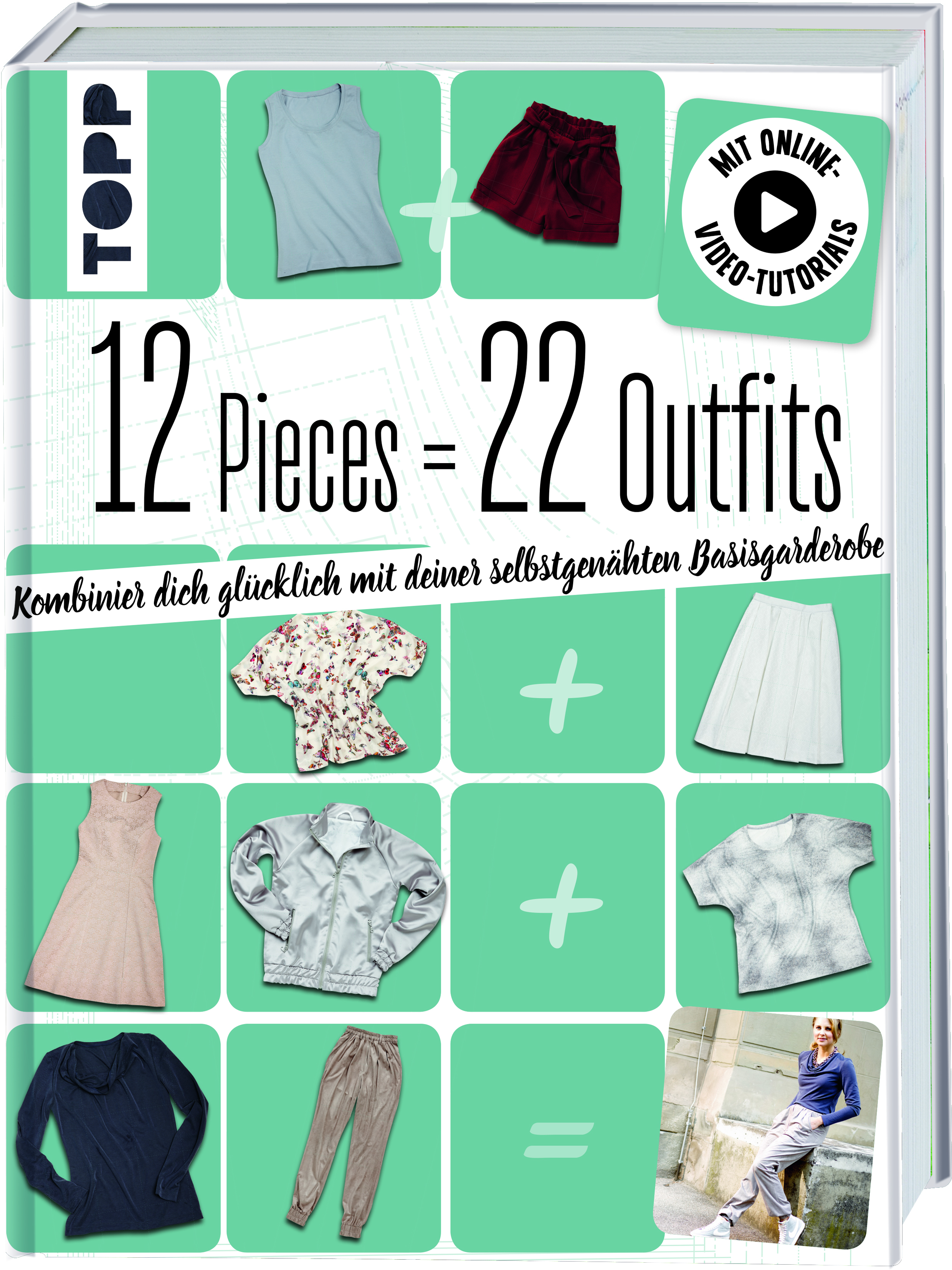 Topp 6474, 12 Pieces=22Outfits