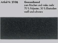 Gummiband 15mm, 2108