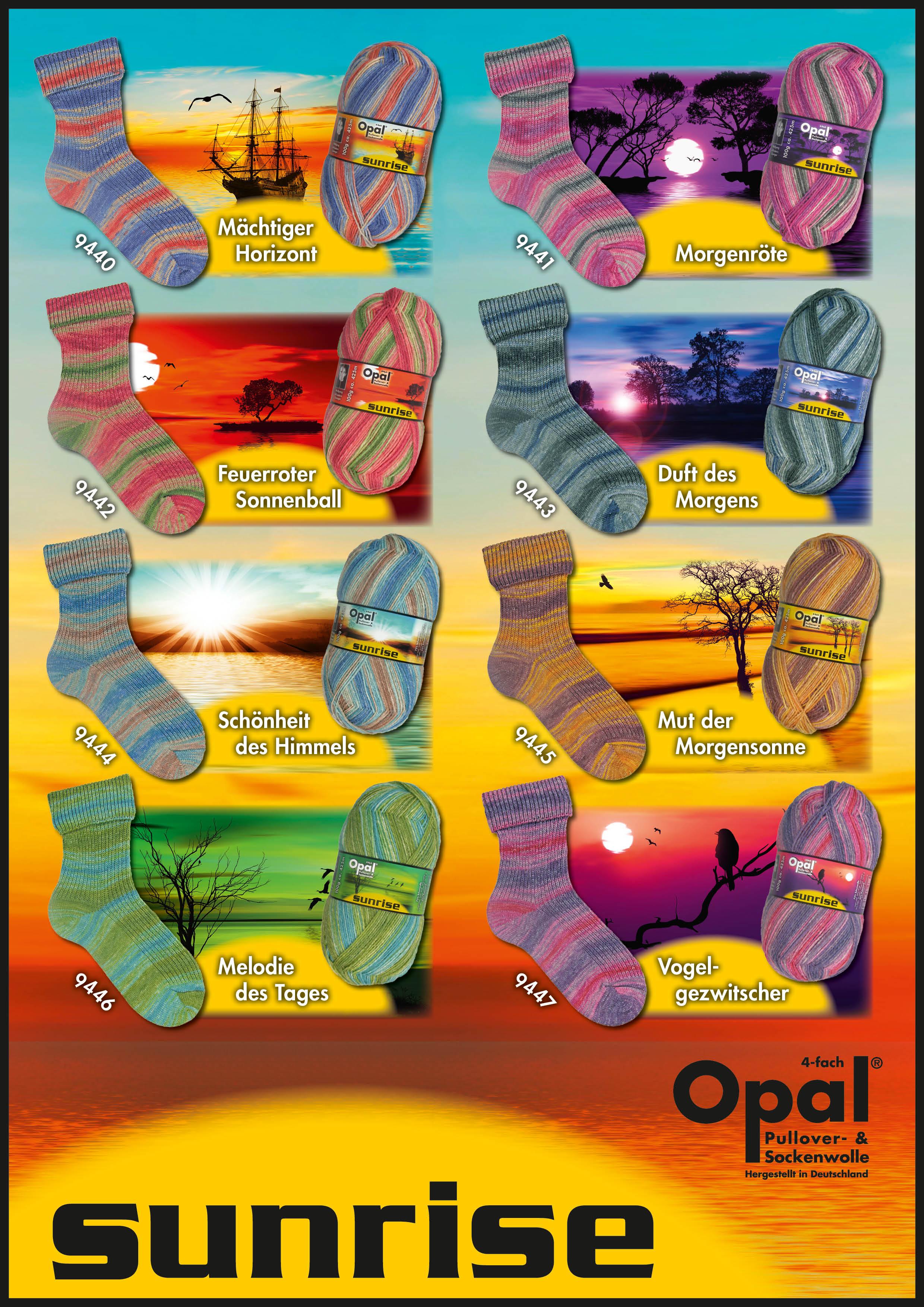 Opal Sunrise 4fach 100g