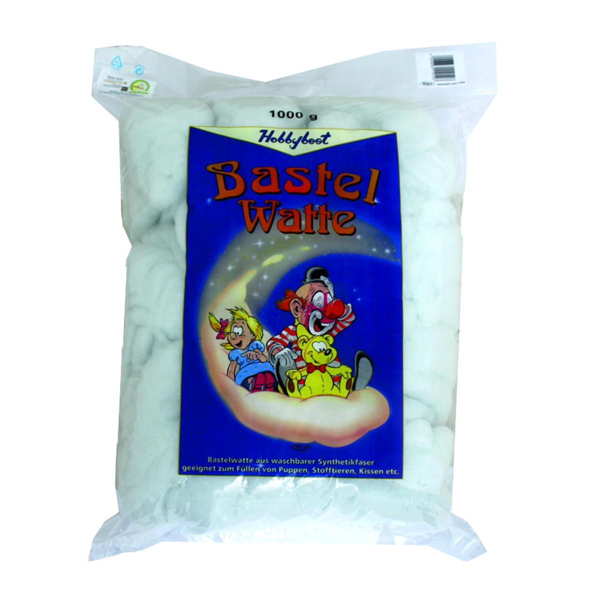 Bastelwatte 11012, weiss, 1kg