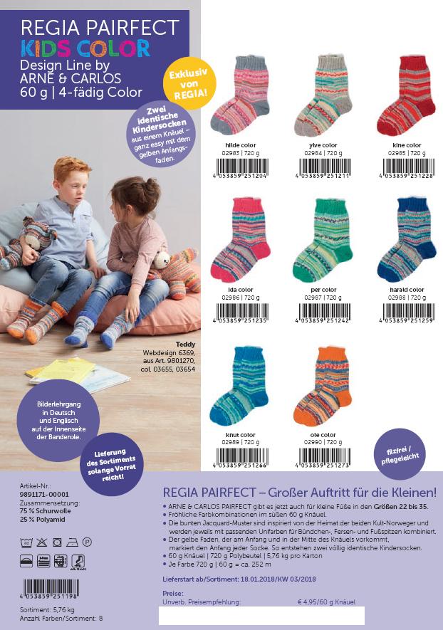 Regia Pairfect Kids color 60g