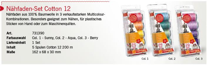 Gütermann 731390 Cotton 12