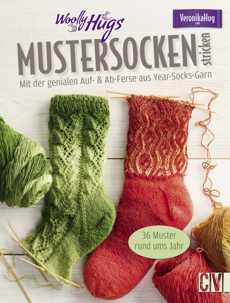 CV 6518 Woolly Hugs Mustersocken