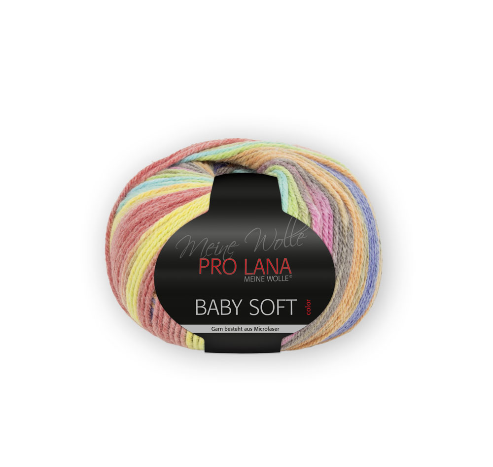 Pro Lana Baby soft color 50g