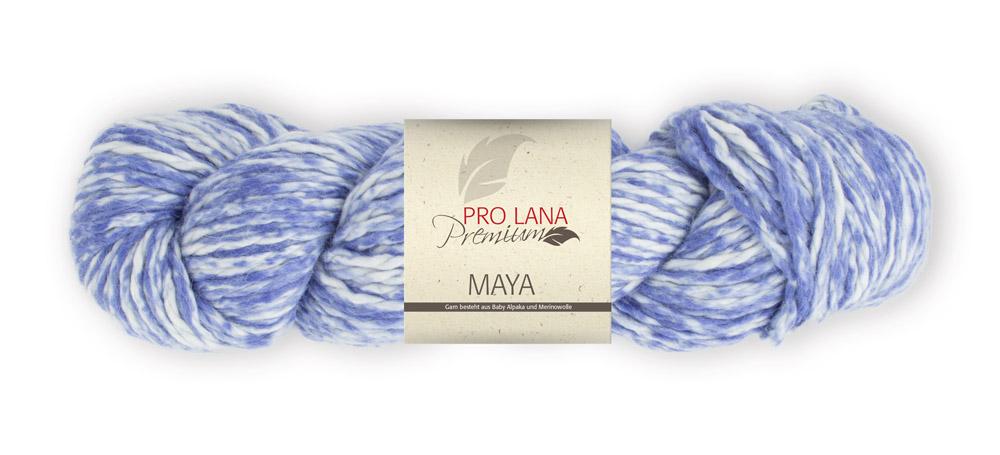 Pro Lana Maya 100g Strang 0,5kg