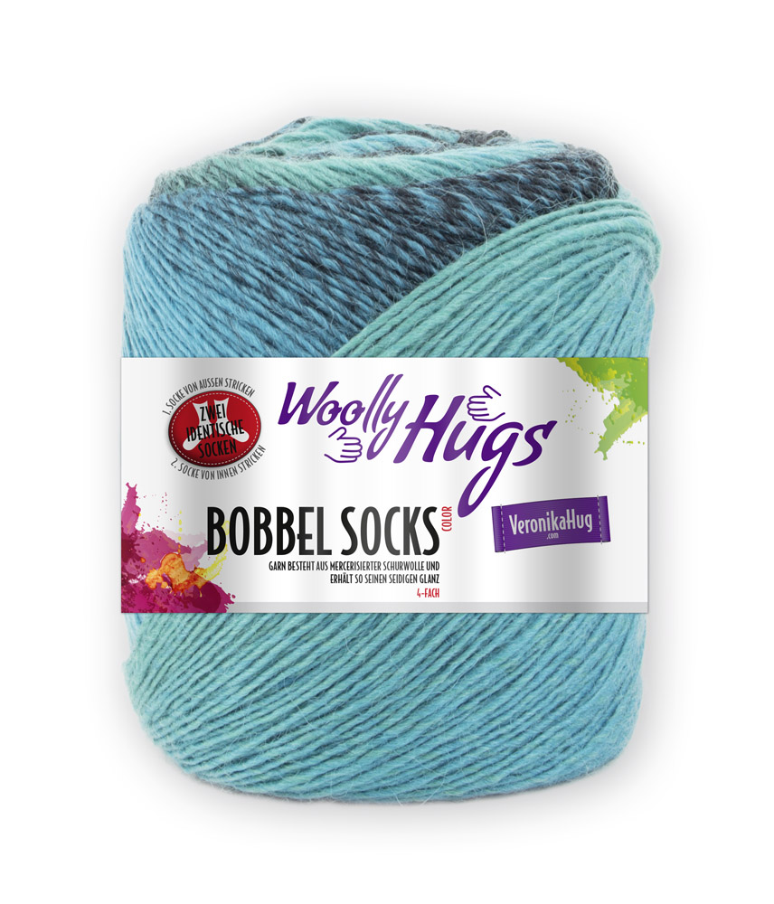 Woolly Hugs BOBBEL Socks 100g. 0,5kg
