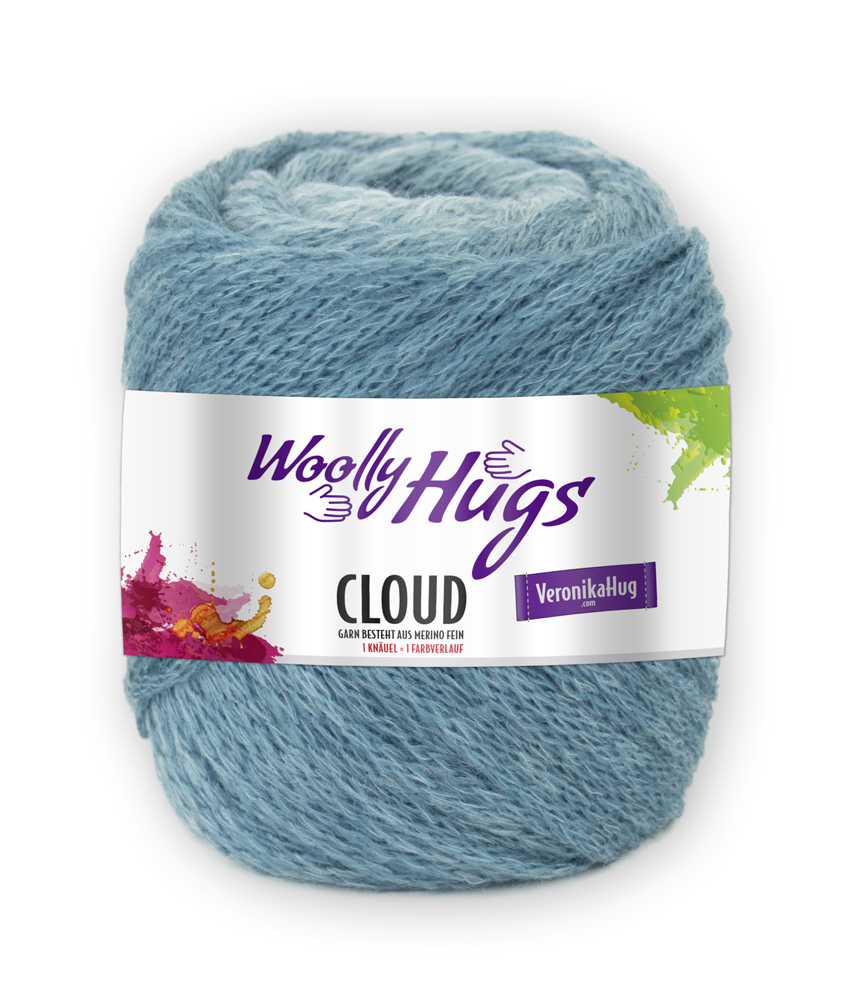 Woolly Hugs CLOUD 100g 0,5kg