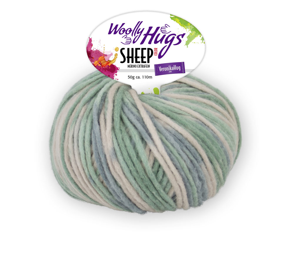 Woolly Hugs SHEEP color 50g 0,5kg