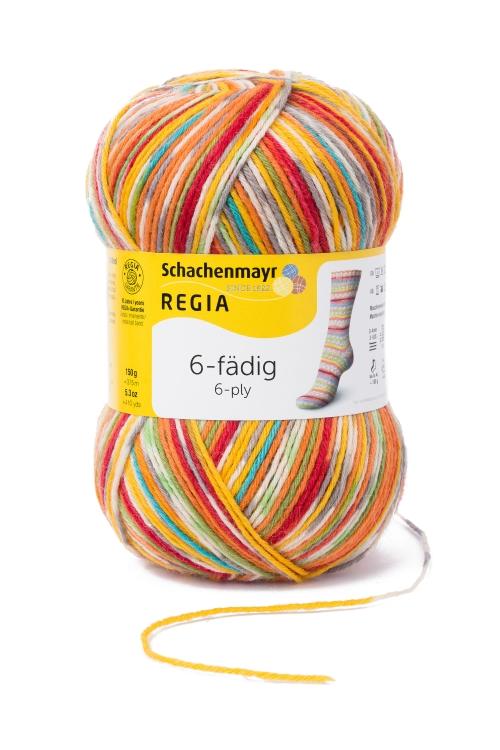 Regia 6fach color 150g Einzelf