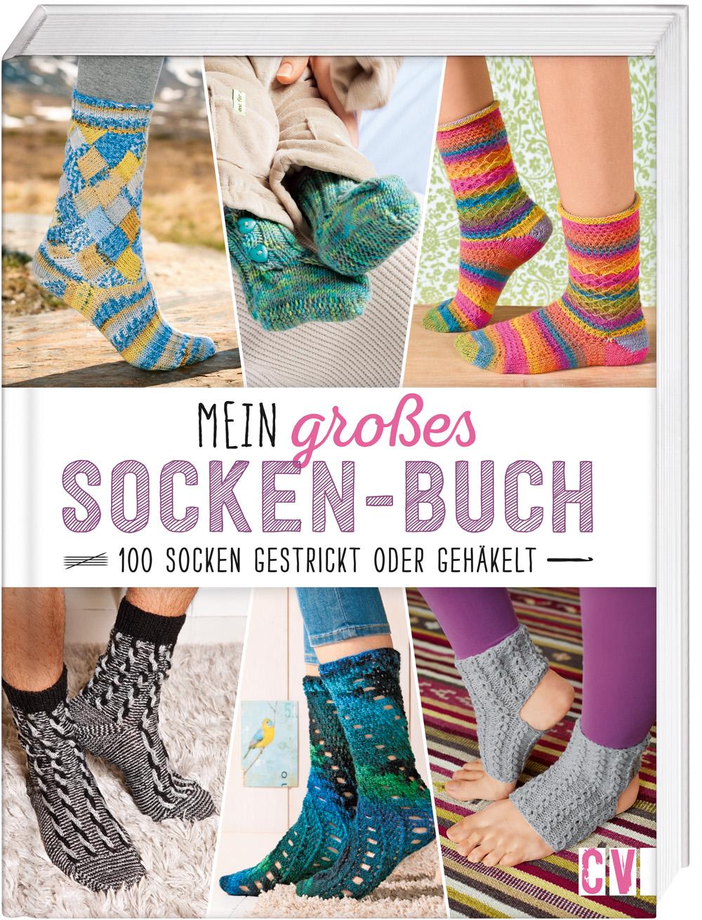 CV 6509 Mein großes Socken-Buch