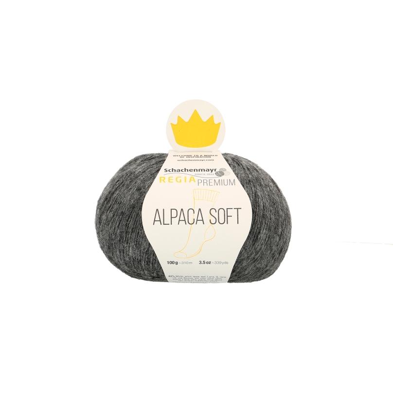 Regia Alpaca Soft 4f 100g 0,5kg