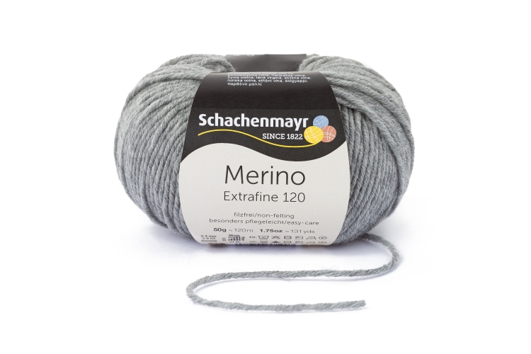 Merino Extrafine 120 50g 0,5kg