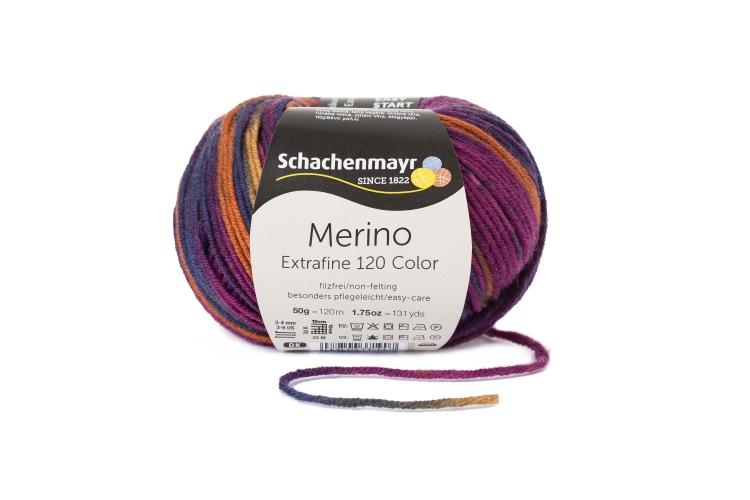 Merino Extraf Color 120 50g 0,5kg