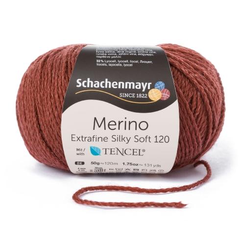 Merino Extrafine Silky soft120 50g 0,5kg