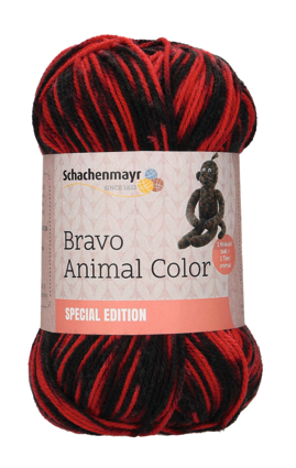 Bravo Animal Color 100g Sort.10kg