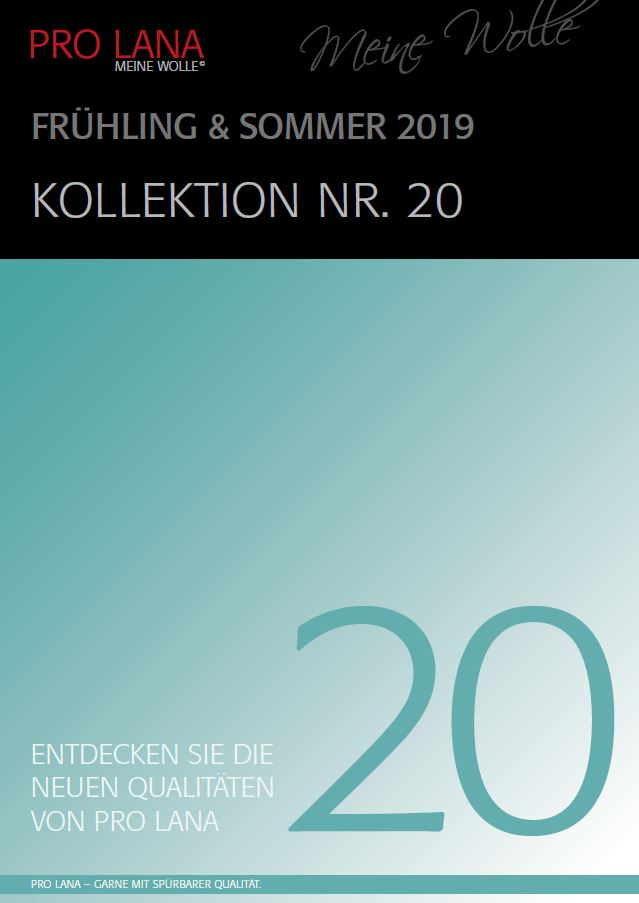 Katalog 20 Frühjahr-Sommer-Kollektion 2019