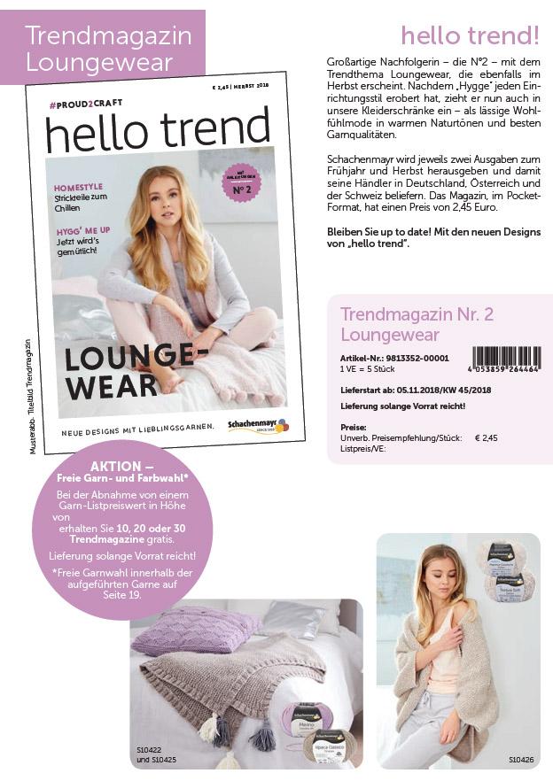 Trendmagazin Nr.2  Loungewear