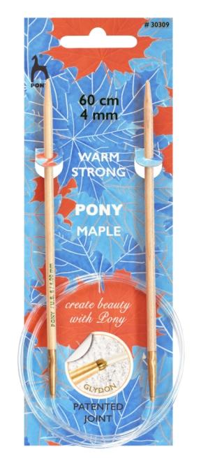 Pony Maple Rundnadeln 60cm