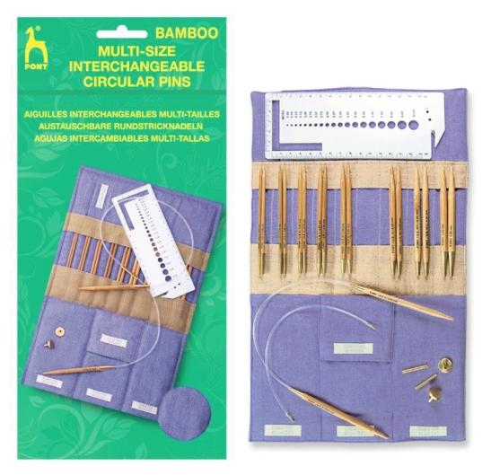 Pony Bamboo austauschbare R.N.