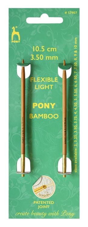 Pony Bamboo Nadelspitzen