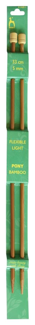Pony Bamboo Jackenadeln 33cm