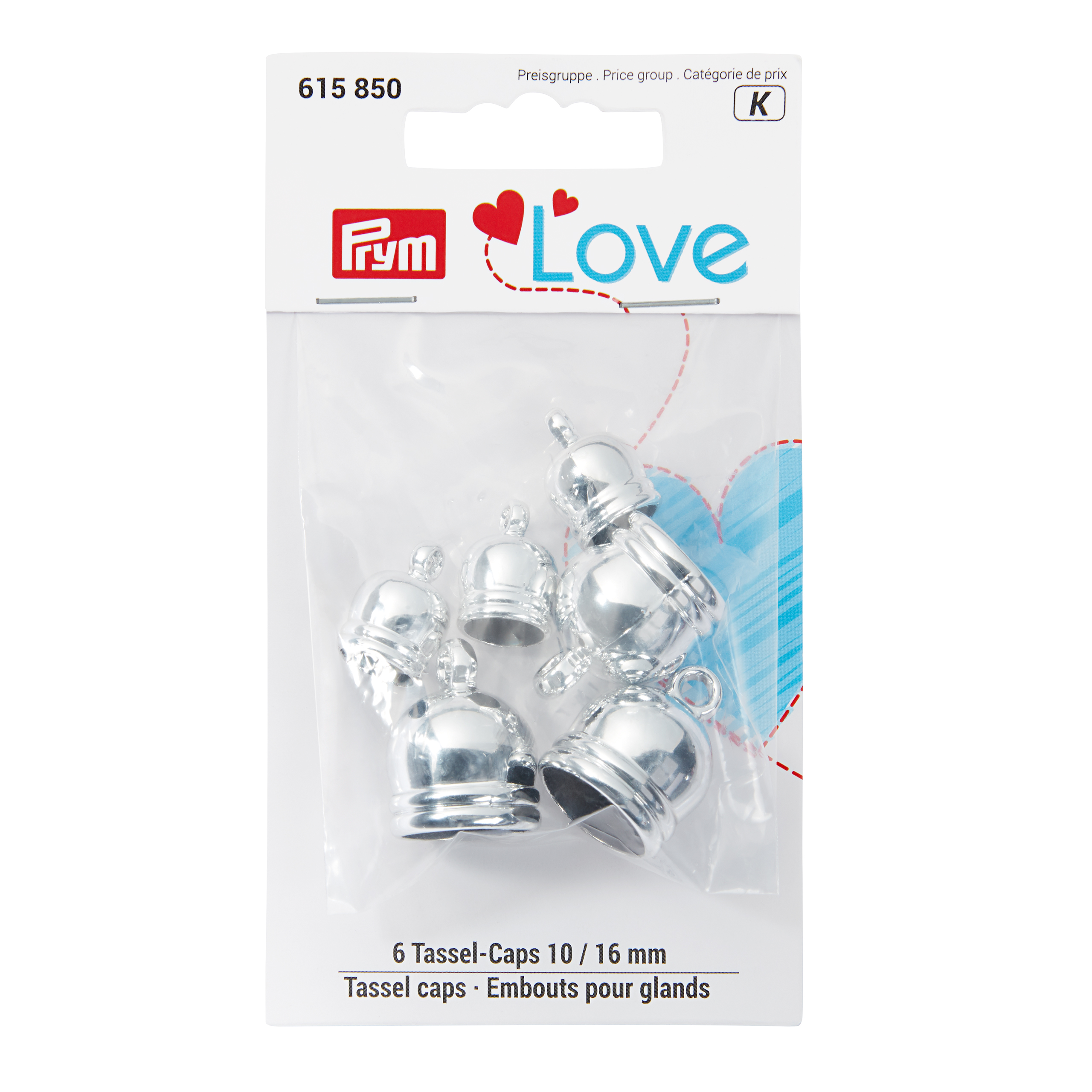 Prym 615850 Love Tassel caps