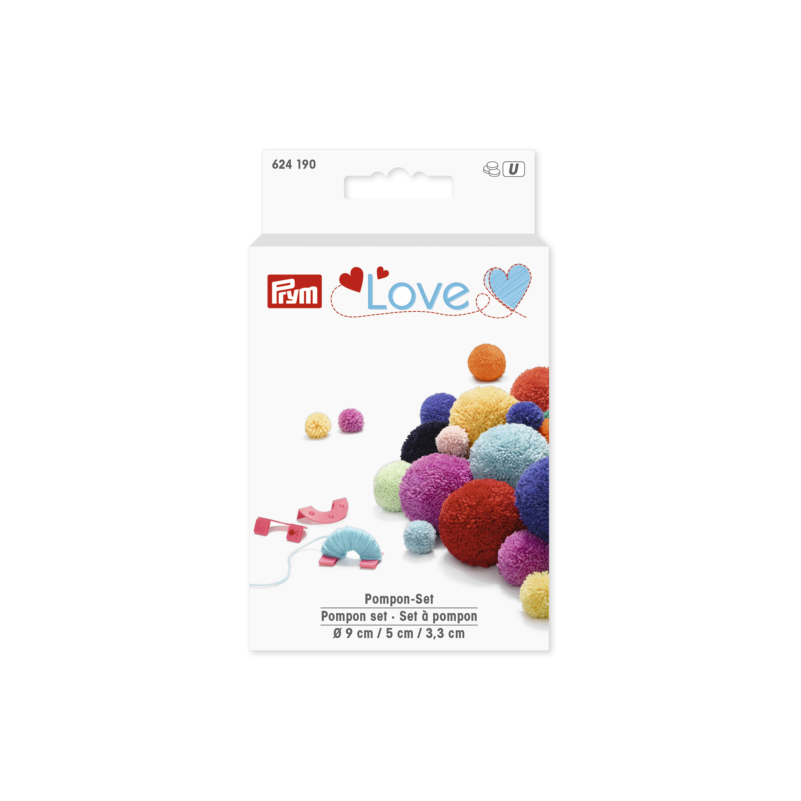 Prym 624190 Love Pompon Set