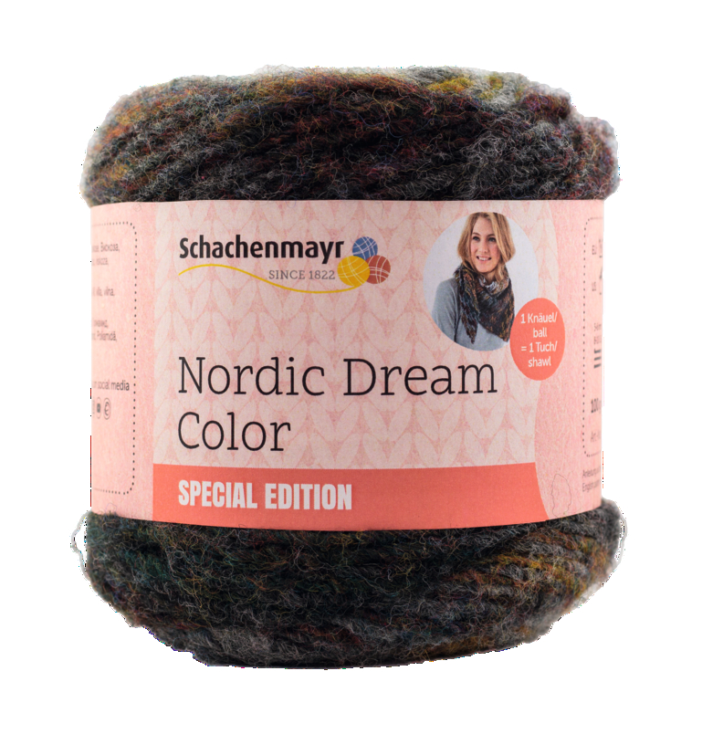 Schach. Nordic Dream Color 100g Sort.6kg