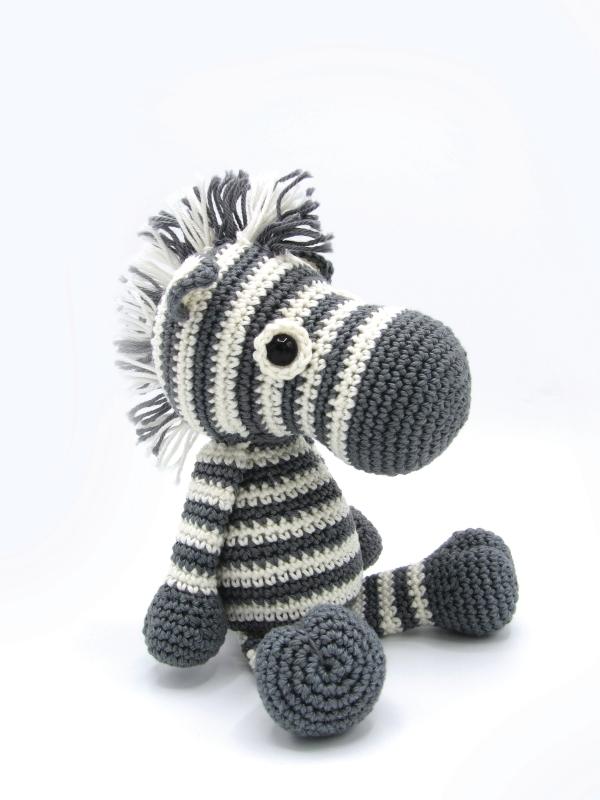 SMC Häkel-Kit Zebra 1 Stück