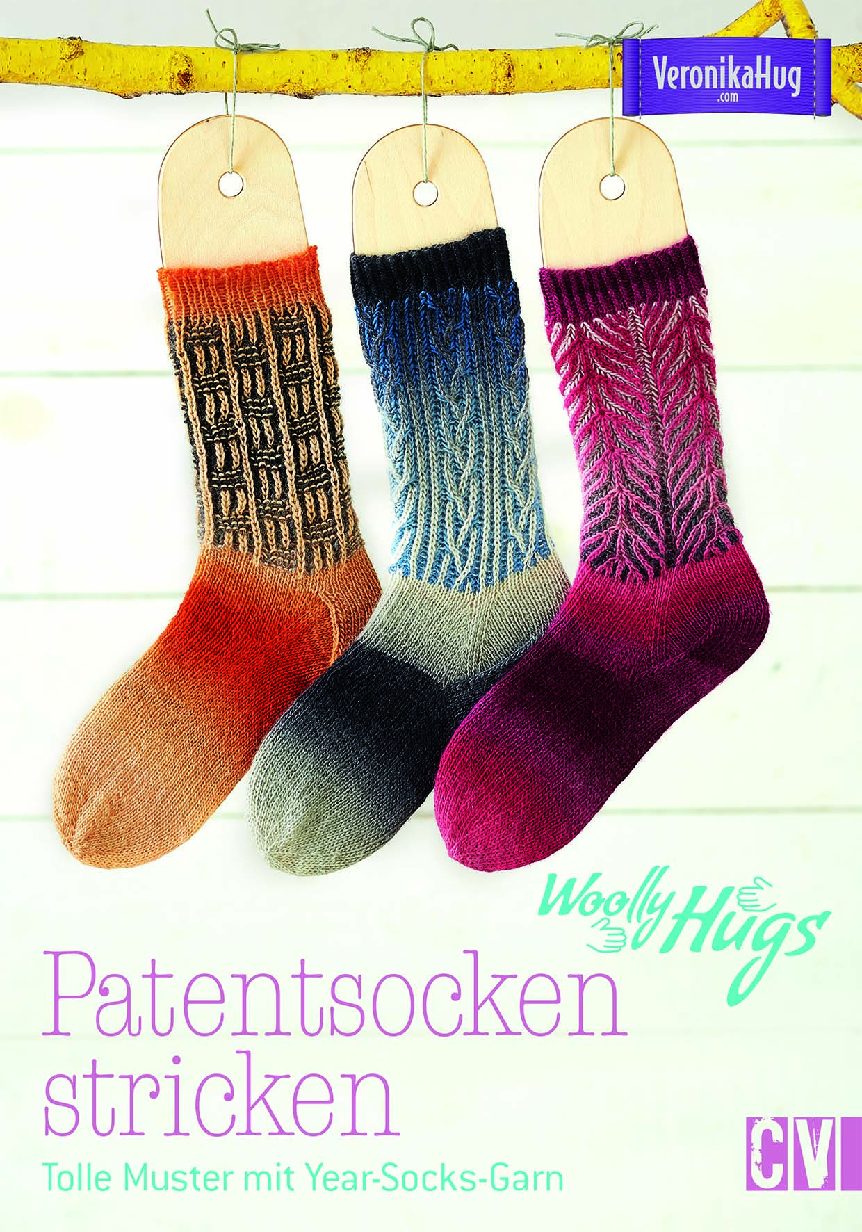 CV 6534 Wolly Hugs Patentsocken stricken